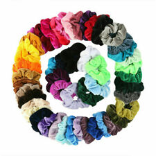 Women Girl Hair Scrunchies Velvet Elastic Hair Bands Scrunchy Rope Ties