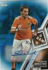 2018 Topps MLS Soccer Autograph Blue AUTO /50 #4 Vicente Sanchez