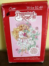 1993 Peppermint Rose Valentine Cards New 38 Valentine's By Carlton Cards
