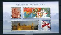 GB 2007 Commemorative Stamps~Celebrating England~M/S~Unmounted Mint Set~UK