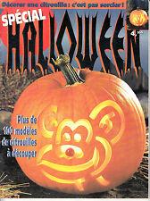 Spécial Halloween Plus de 100 modèles de citrouilles à découper (1995)