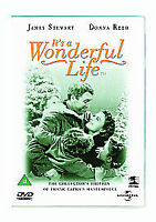 IT'S A WONDERFUL LIFE COLLECTORS EDITION UNIVERSAL UK REGION 2 DVD NEW