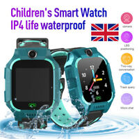 Waterproof Anti-lost GPS Tracker Smart Kids Child Watch SOS Call For iOS Android