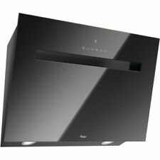 Whirlpool AKR808UKBK 80cm Black Glass Cooker Hood Extractor - 2 Year Guarantee