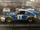 1:43 PORSCHE 911 CARRERA RS MONTE CARLO RALLY 1978 NICOLAS LAVERNE #3 DEAGOSTINI