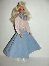 1989 Denim Fun Barbie Cool City Blues Doll