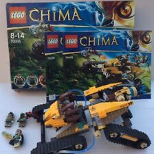 Boxed Lego Legends Of Chima 70005 Lavals Royal Fighter+ 3 Figures (2013)