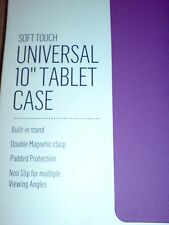 "Tesco Universal 10"" Purple Case 4 iPad Air Samsung Galaxy Etc"