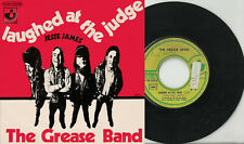 GREASE BAND 2 track pic sleeve 45 LAUGHED AT THE JUDGE Jesse James France