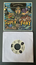 "EROSTIKA ROCKIN' JELLY BEAN SUPER FOXY 7"" VINYL RECORD JACKIE CEDRICS FUZZ RARE"