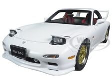 MAZDA RX-7 (FD) TUNED VERSION PURE WHITE 1:18 DIECAST MODEL BY AUTOART 75967