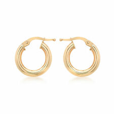 Hook Rose Gold Precious Metal Earrings without Stones