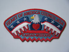 Boy Scouts of America (BSA) Council Strip/Patch HEART OF AMERICA COUNCIL KS & MO