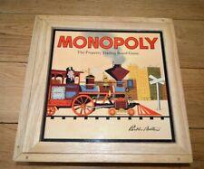 Monopoly Nostalgia Wooden Box Edition Board Game