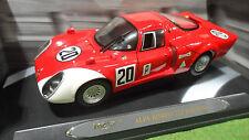 ALFA ROMEO 33.2 Racing # 20 Daytona Rouge 1/18 de RICKO 32132 voiture miniature