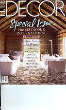 ELLE DECOR MAGAZINE JANUARY FEBRUARY 2012 INTERNATIONAL SPECIAL ISSUE BRAND NEW