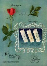 1951 Shulton Rose 3 Perfume Bottles Vintage Bottle PRINT AD