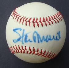 STAN MUSIAL  auto  signed Baseball Feeney HOF PSA/DNA U56316