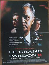 AFFICHE - LE GRAND PARDON II ROGER HANIN RICHARD BERRY ALEXANDRE ARCADY