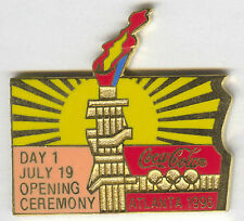 1996 ATLANTA OLYMPIC COCA COLA DAY PIN 1 FOR BOTTLE PUZZLE SET