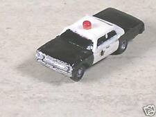 N Scale 1963 Black & White Chevy Police Car, type 3