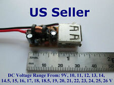 DC-DC 12V - 24V Step-down to 5V USB 1A Charger Power Module, Solar,Phone,MP3,PSP