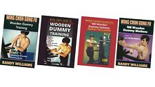 4 Dvd Set Randy Williams Wing Chun Wooden Dummy chinese kung fu training