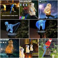 Garden LED Solar Power Lawn Light Outdoor Waterproof Stake Decor Landscape Lamp