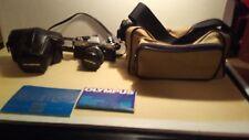 Olympus OM10 35mm Camera w 1:1.8 50mm Lens, Manuals, Case + More! L@@K