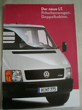 VW LT Double Cabin brochure May 1996 German text