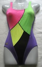 Olympia Damen Badeanzug Gr 36 Mehrfarbig chlorbeständig 32013