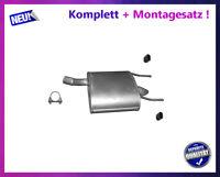 Endschalldämpfer Opel Insignia A 2.0 CDTI 81-118KW Auspuff Montagesatz bis 2012