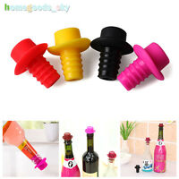 2Pc Bottle Cap Silicone Seasoning Beer Wine Cork Stopper Plug Cover Kitchen Tool