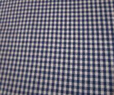 "Carolina Gingham 1//8/"" Gray White Check Cotton Fabric Print by Yard D470.18"