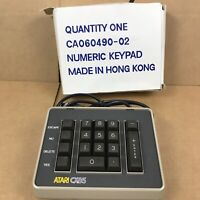 Vintage ATARI CX85 NUMERIC KEYPAD for Atari Computers (Open Box) 2.A6