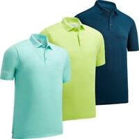 CALLAWAY GOLF MENS HEX OPTI-DRI STRETCH TOUR LOGO GOLF POLO SHIRT 50% OFF