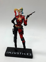Genuine DC Collectibles Harley Quinn Injustice 2 Statue. Open box!