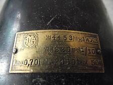 alter Elektromotor 220 V 0,7 Amp 2000 Umdr. 1/10 PS