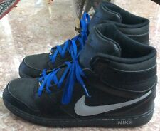 Nike Prestige IV High Black Leather Casual Athletic Sneakers Size 14 584614-004