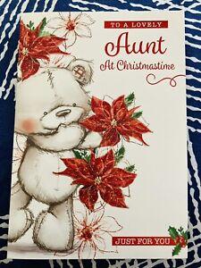 Lovely Aunt Christmas Card