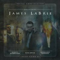 JAMES LABRIE - ORIGINAL ALBUM COLLECTION:DISCOVERING JAMES LABRIE 3 CD NEW