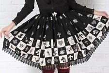 Cosplay Lolita Fantasy Gothic Princess Skirt with lace (black)