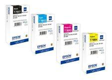 4x Original Tinte Epson WorkForce Pro WF5110 WF-5190 DW WF-5620DWF / T7891-T7894