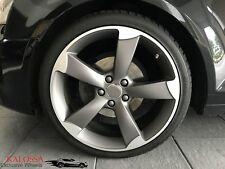 Original WSP Felgen für Audi A4 S4 A6 S6 Rotor Design 19 Zoll Matt Gun Metal NEU