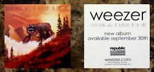 Weezer Everything Will Be Alright In The End Ltd Ed Sticker +Free Rock Stickers!
