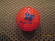 PING GOLF BALL/S-RED/BLUE PING #1..10/10...KAPALUA GOLF RESORT LOGO...HAWAII