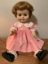 """Vintage 23"""" Madame Alexander """"Kathleen"""" doll with rooted hair, great condition!"""