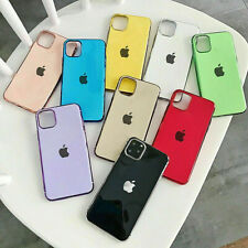 Case Apple iPhone 11 Pro X XS 6 7 8 Liquid Phone Cover Silicone CandyColour