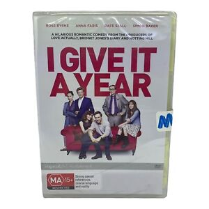 Brand New & Sealed I Give It A Year DVD - Region 4, PAL