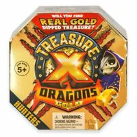 Treasure X Dragons Gold ~ Series 2 Single Pack ~ Surprise Hidden Treasure